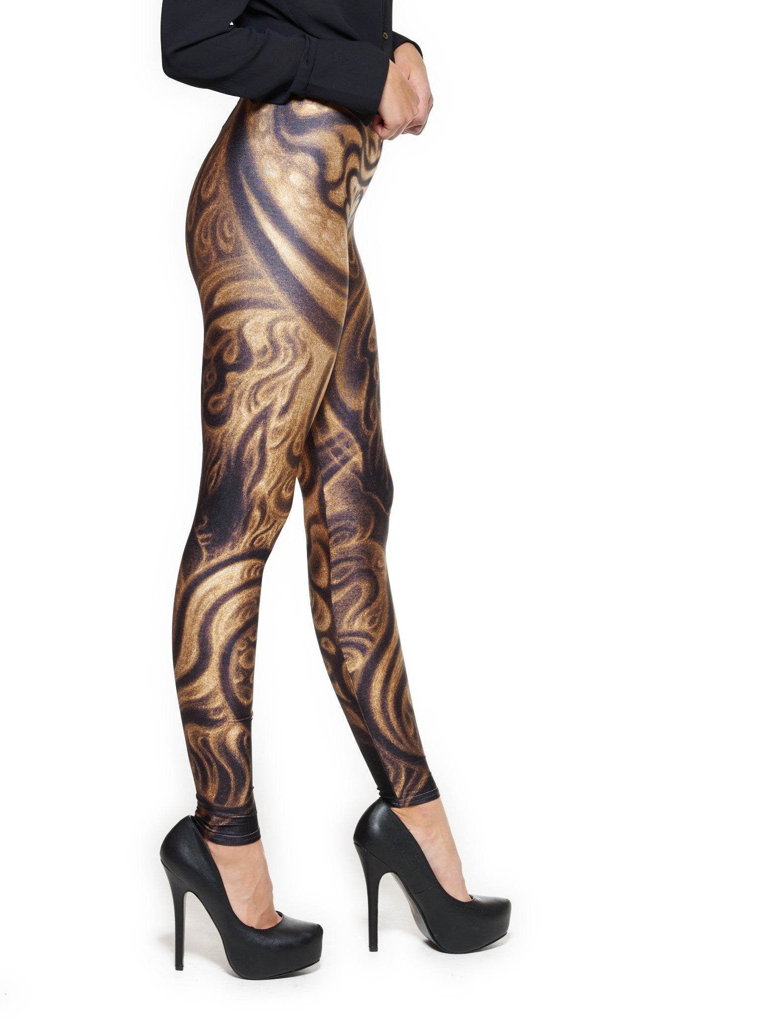 The Invisible Guidance Queen West Leggings - Nuvango Gallery & Goods - 2