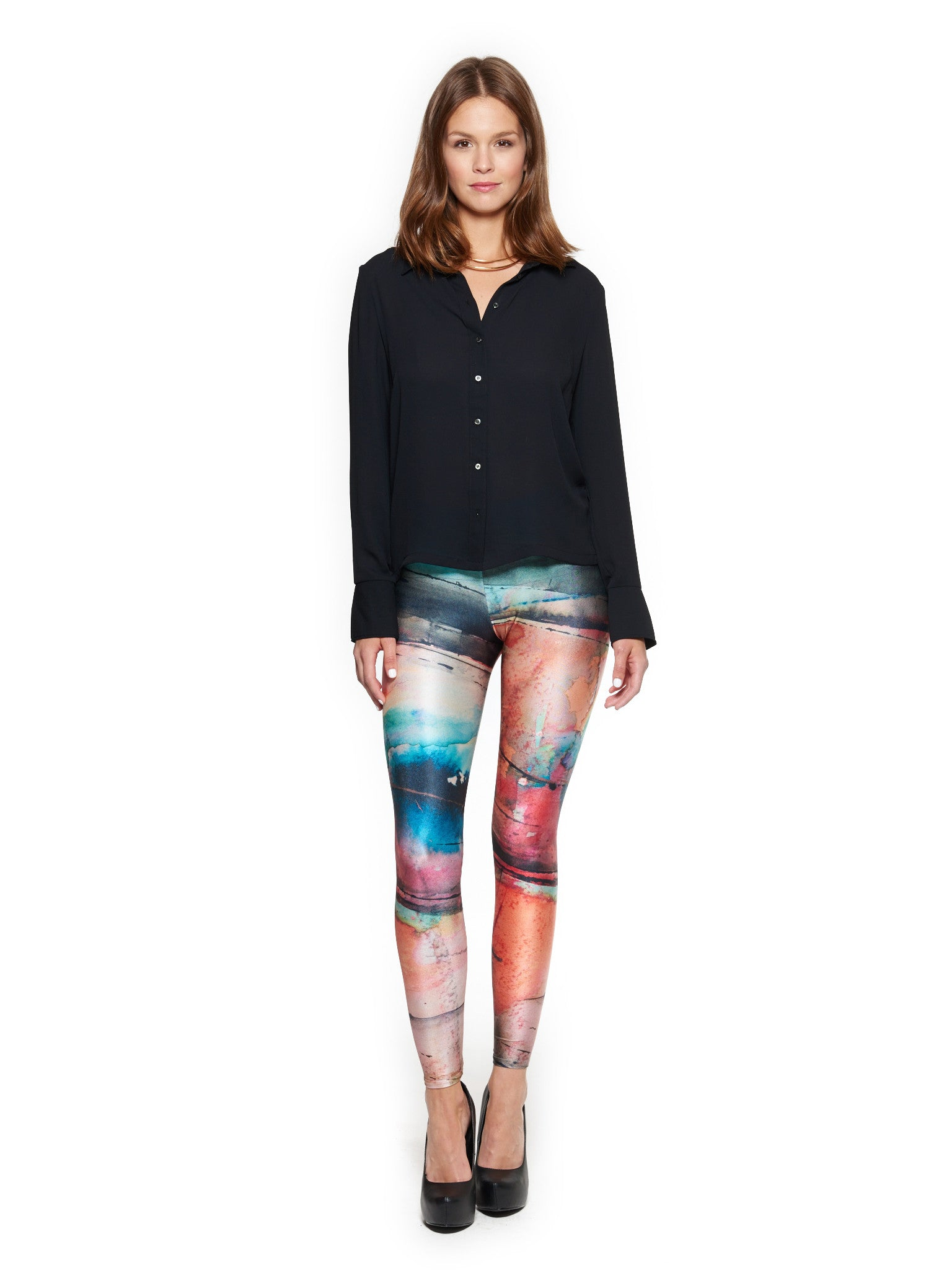 Facade Queen West Leggings - Nuvango Gallery & Goods - 1