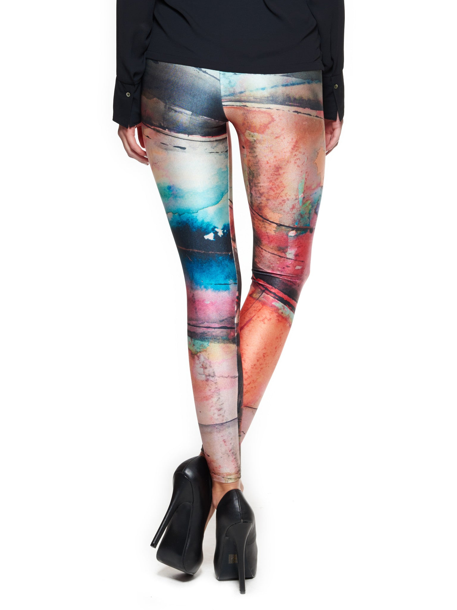 Facade Queen West Leggings - Nuvango Gallery & Goods - 3