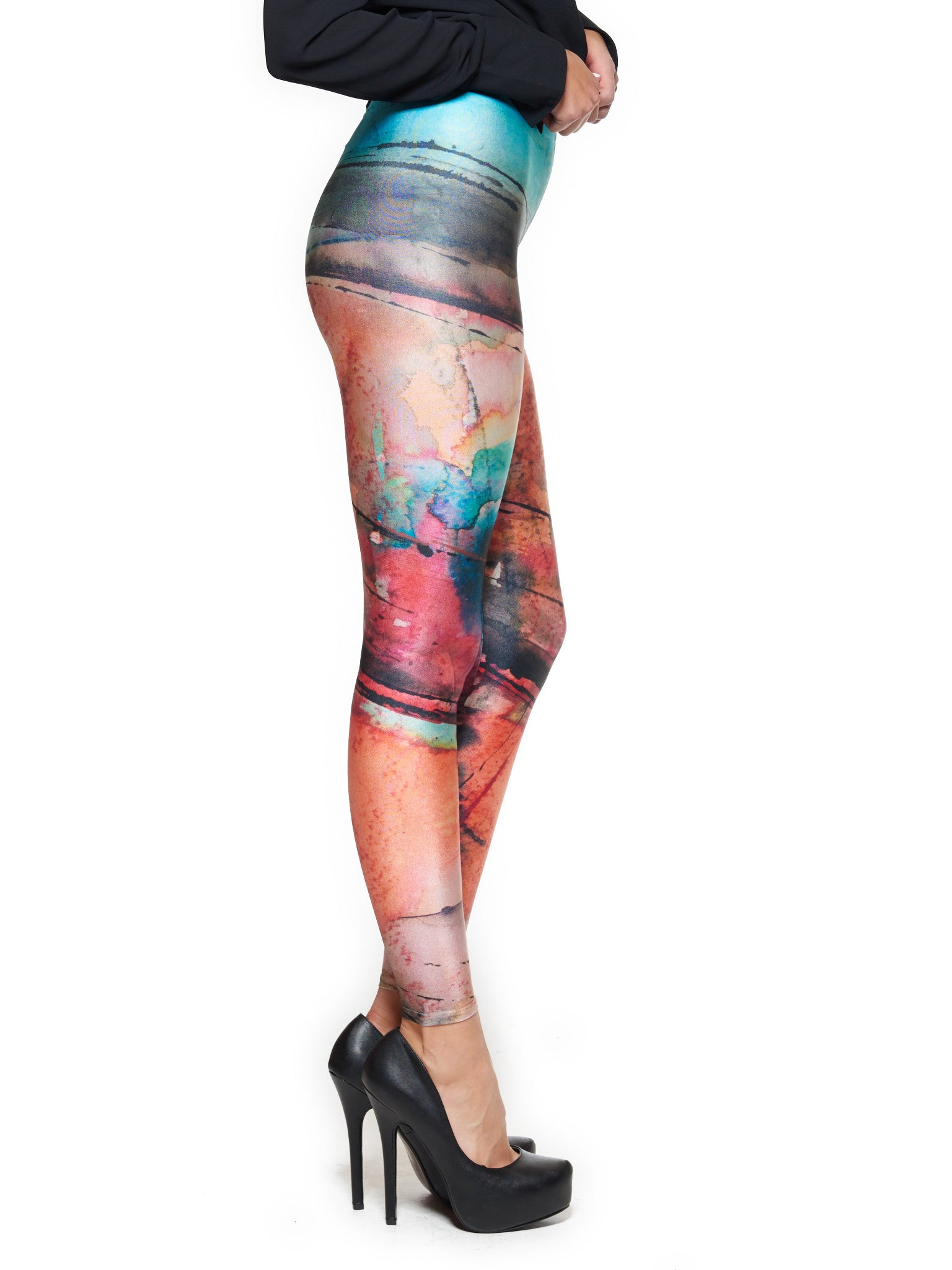 Facade Queen West Leggings - Nuvango Gallery & Goods - 2