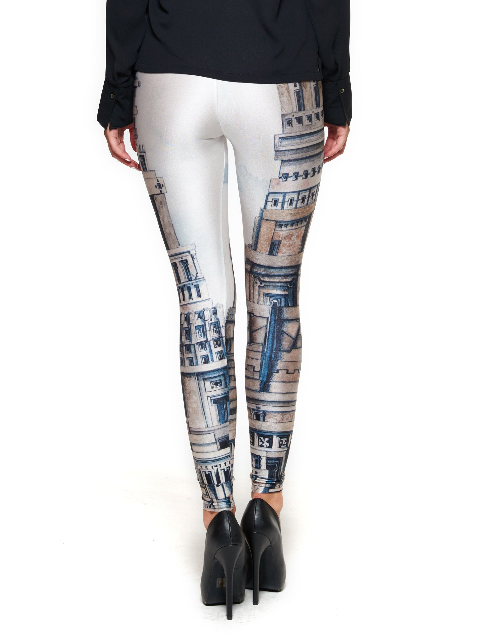 The Door of Stone Queen West Leggings - Nuvango Gallery & Goods - 3