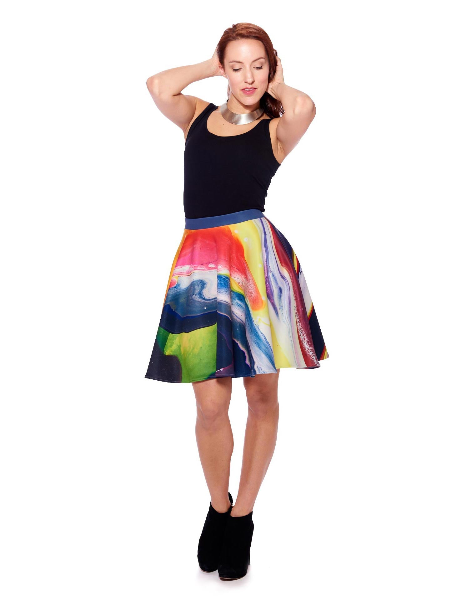 New Planet II Circle Skirt - Nuvango Gallery & Goods - 4