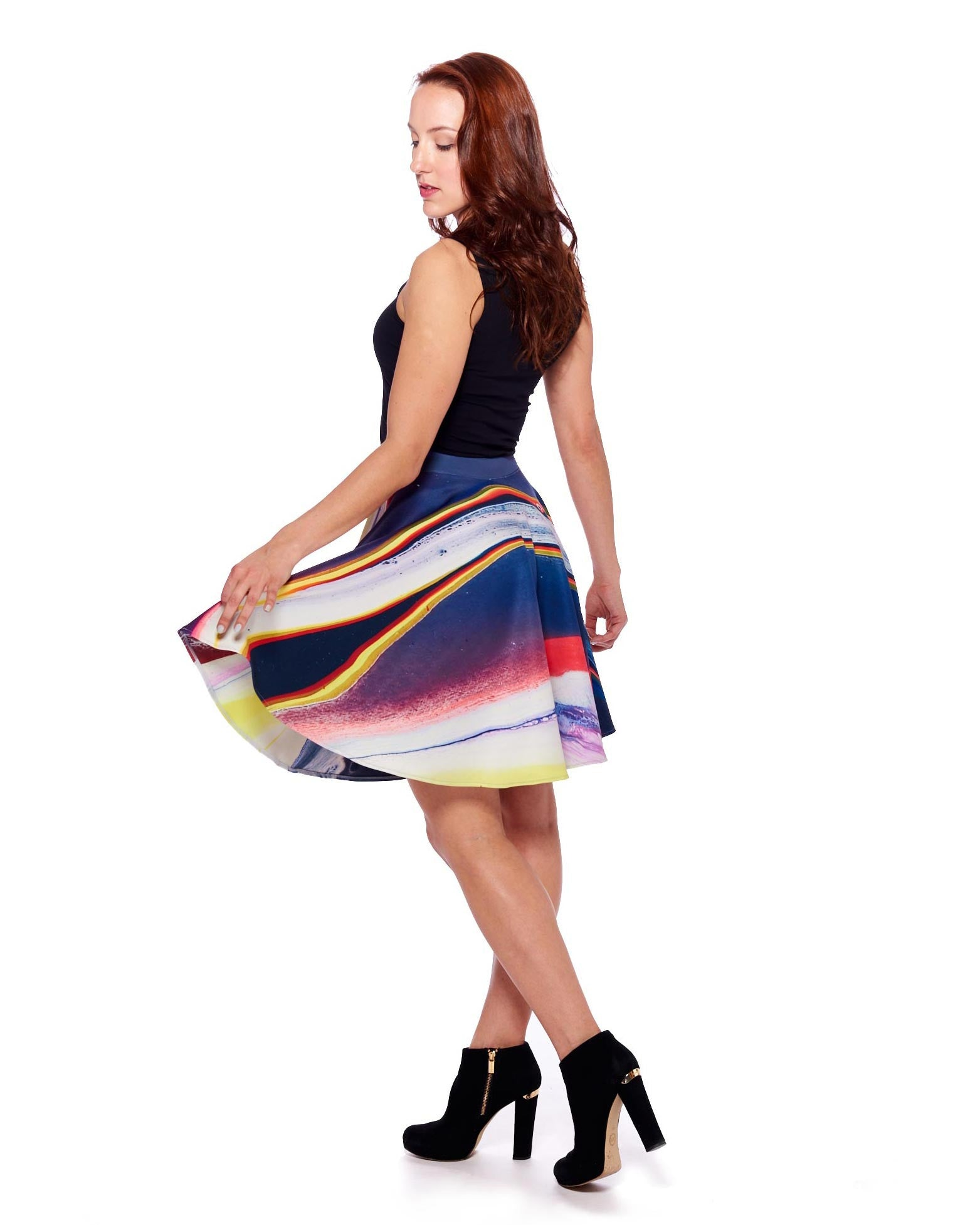 New Planet II Circle Skirt - Nuvango Gallery & Goods - 5