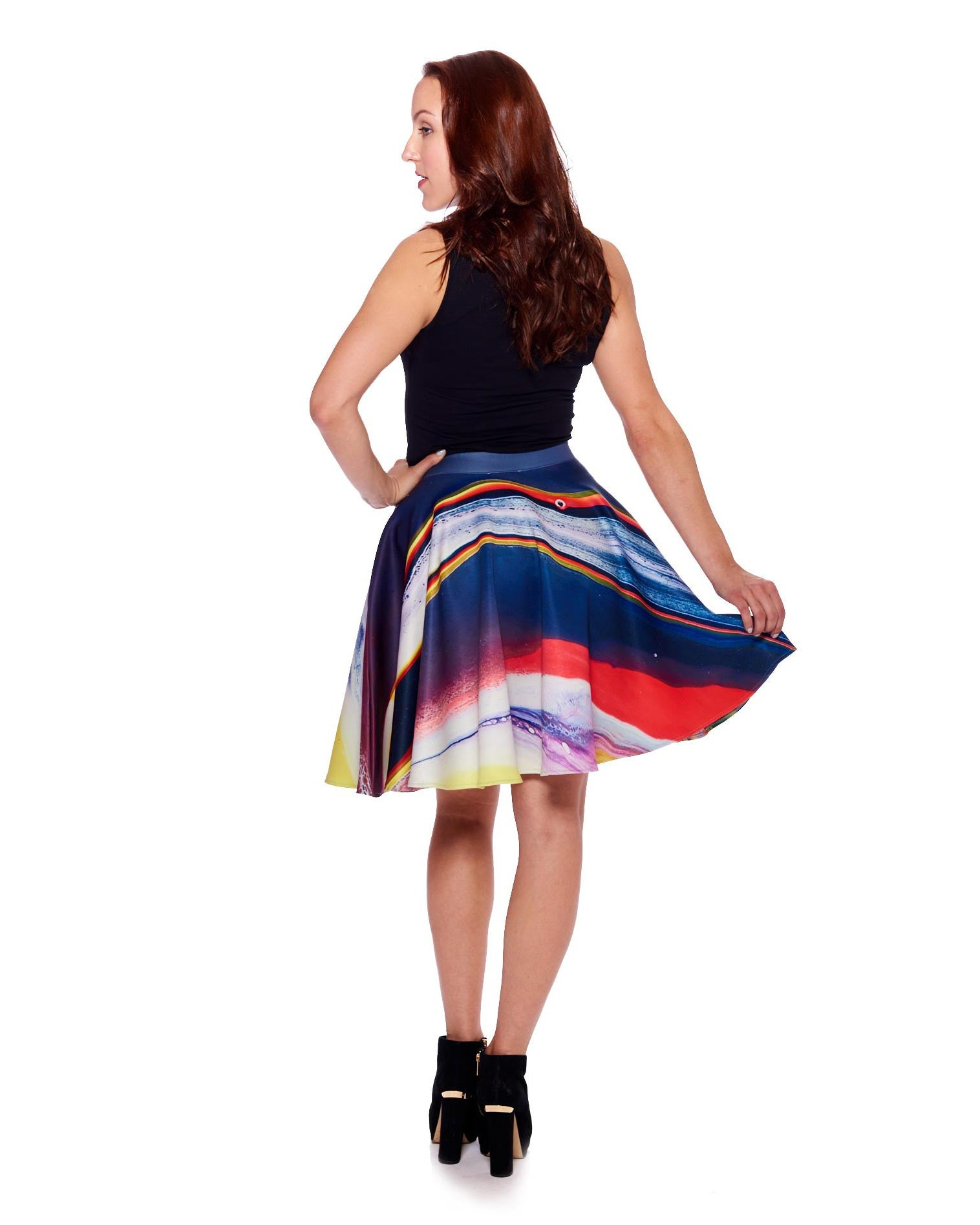 New Planet II Circle Skirt - Nuvango Gallery & Goods - 3