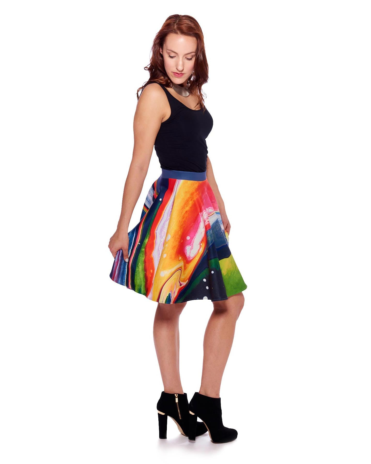 New Planet II Circle Skirt - Nuvango Gallery & Goods - 1
