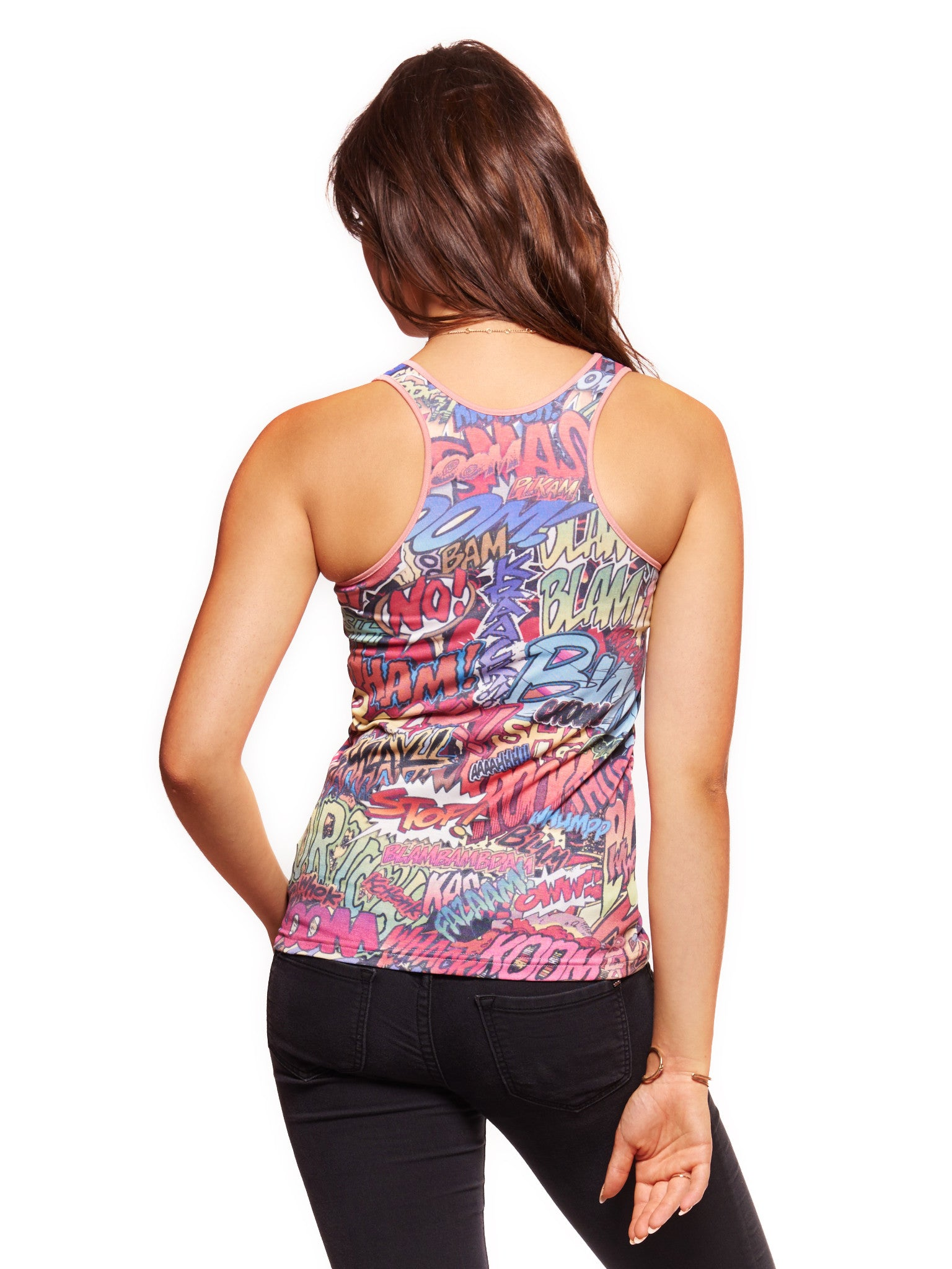 Action Packed Women's Trinity Tank - Nuvango Gallery & Goods - 2