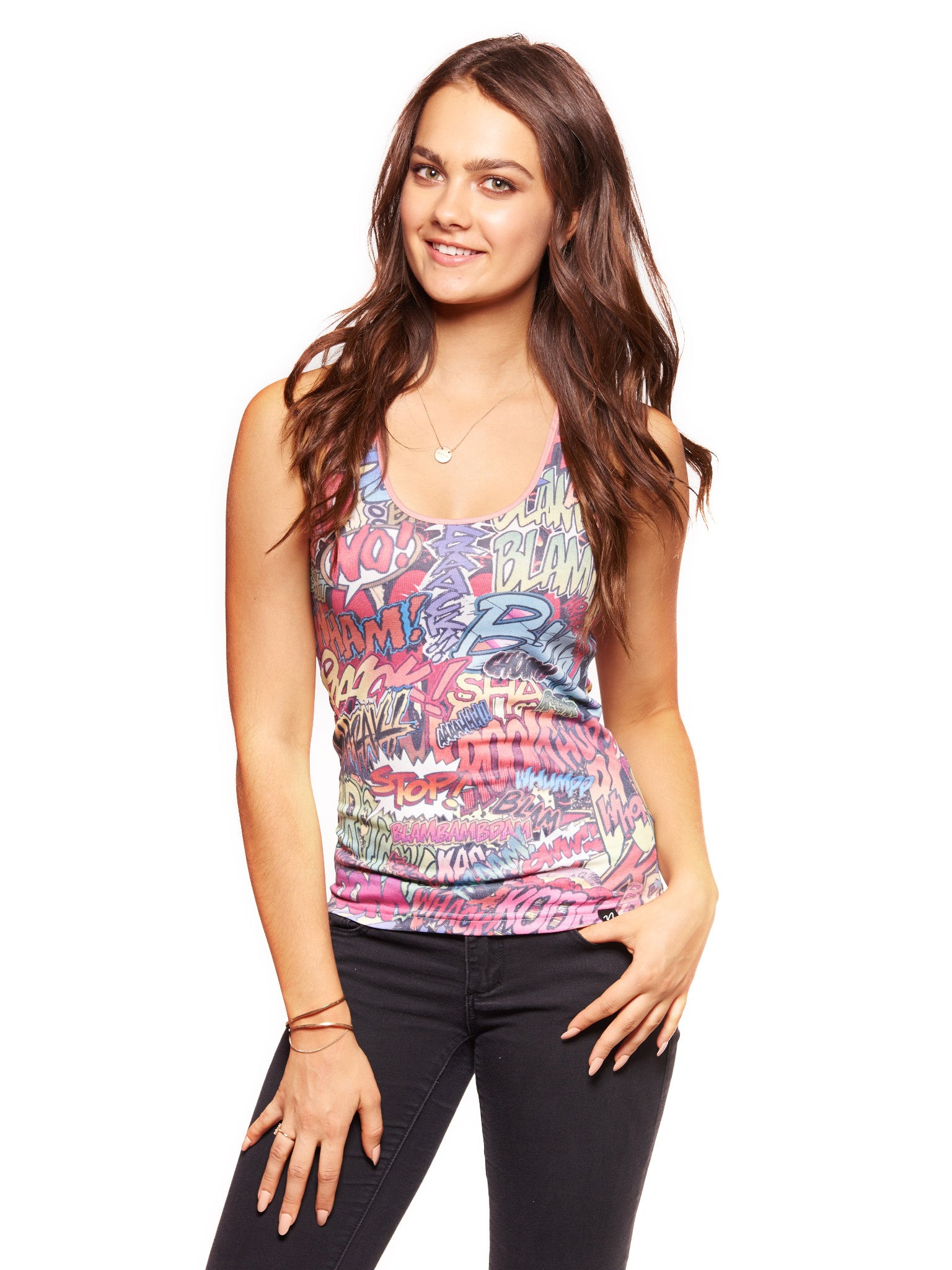 Action Packed Women's Trinity Tank - Nuvango Gallery & Goods - 1