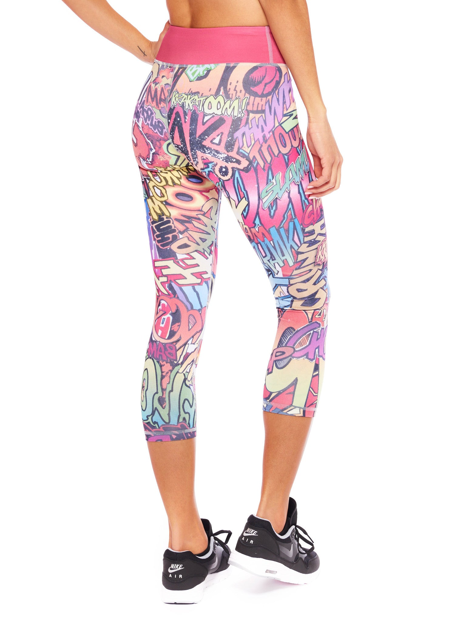 Action Packed Crop Leggings - Nuvango Gallery & Goods - 3