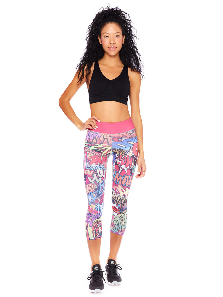 Action Packed Crop Leggings - Nuvango Gallery & Goods - 1