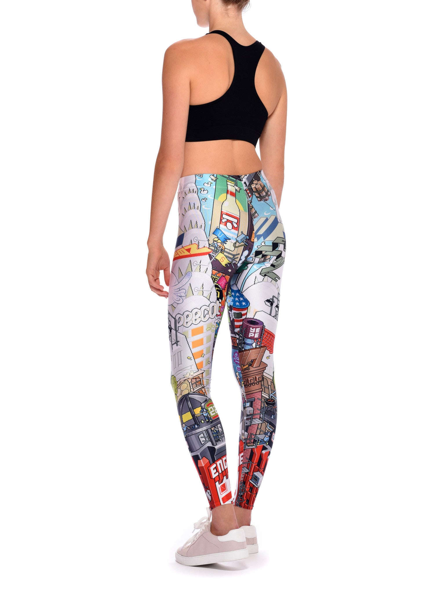 NYC Queen West Leggings - Nuvango Gallery & Goods - 3