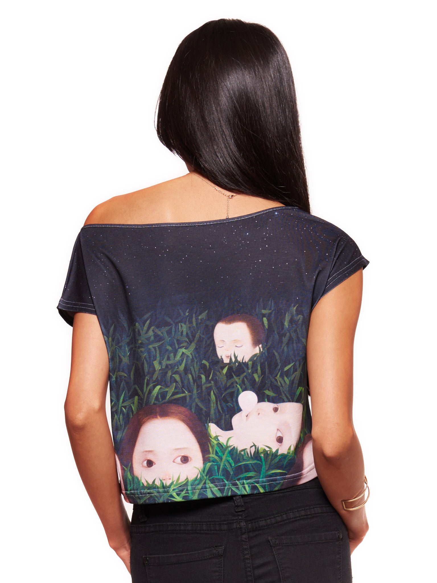 Wild Life Women's Crop Top - Nuvango Gallery & Goods - 2