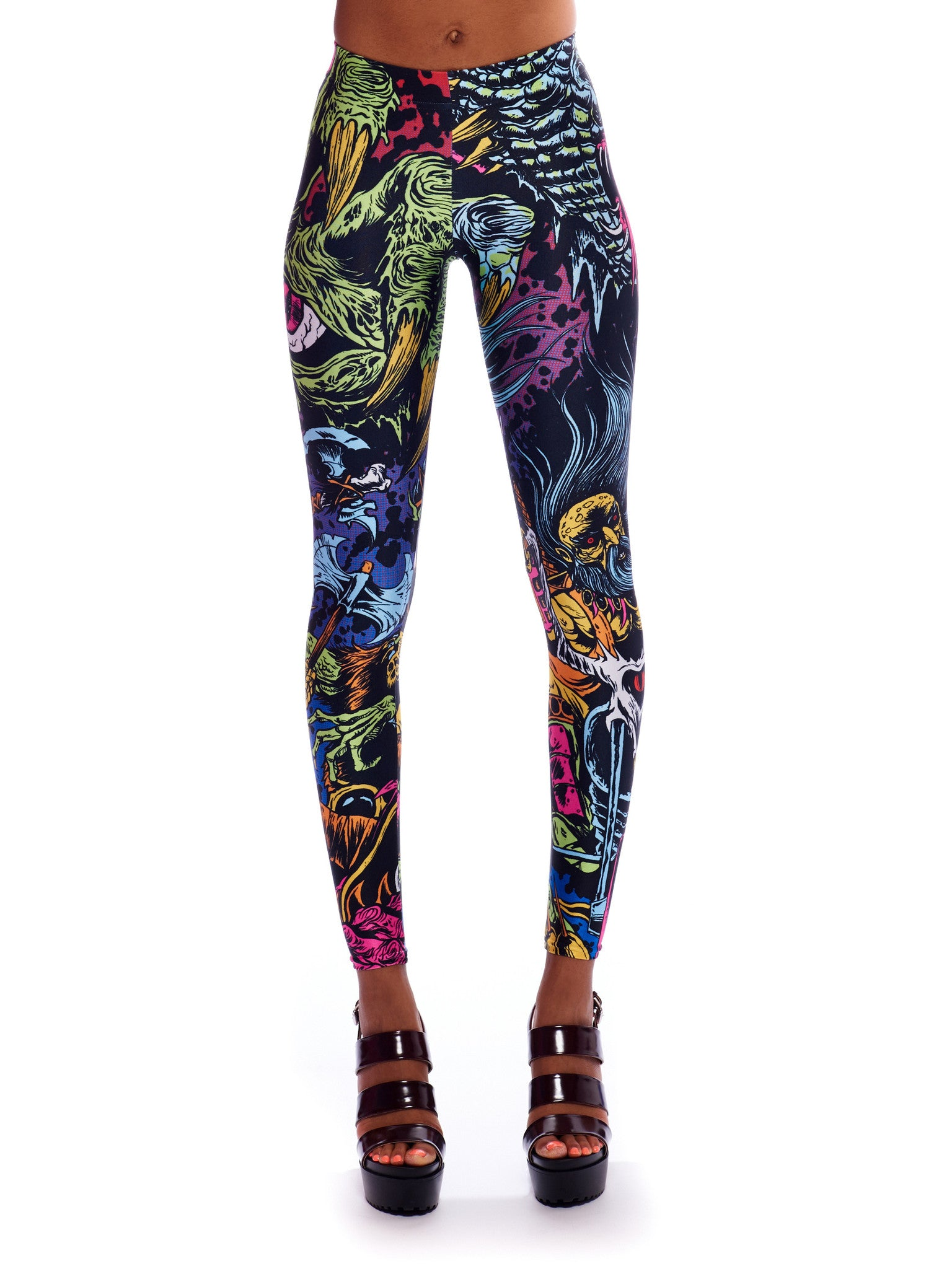 Space Biker Queen West Leggings - Nuvango Gallery & Goods - 2
