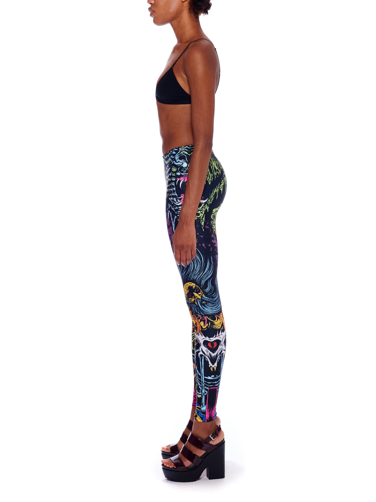 Space Biker Queen West Leggings - Nuvango Gallery & Goods - 4