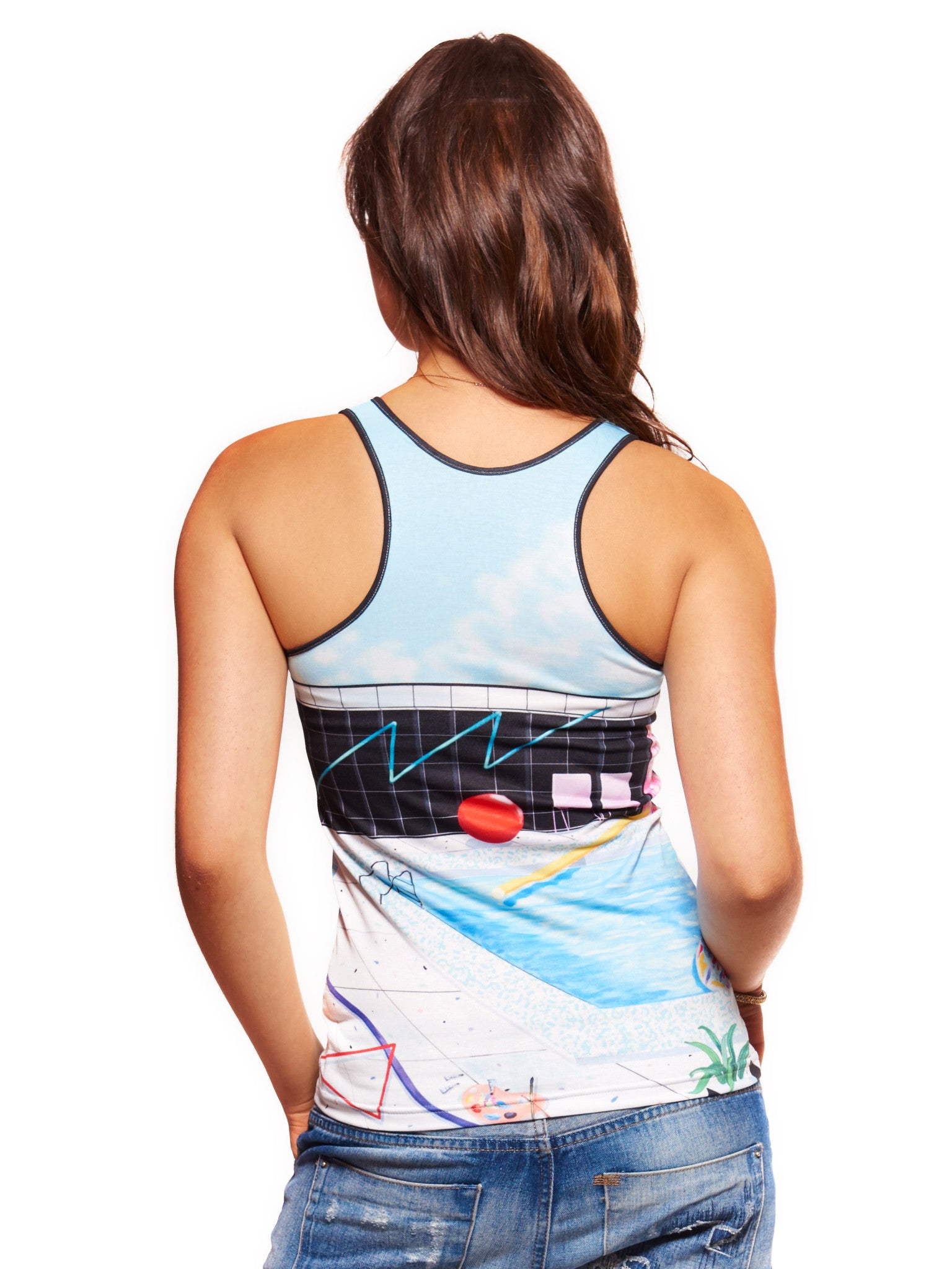 Summer of Love Women's Trinity Tank - Nuvango Gallery & Goods - 2