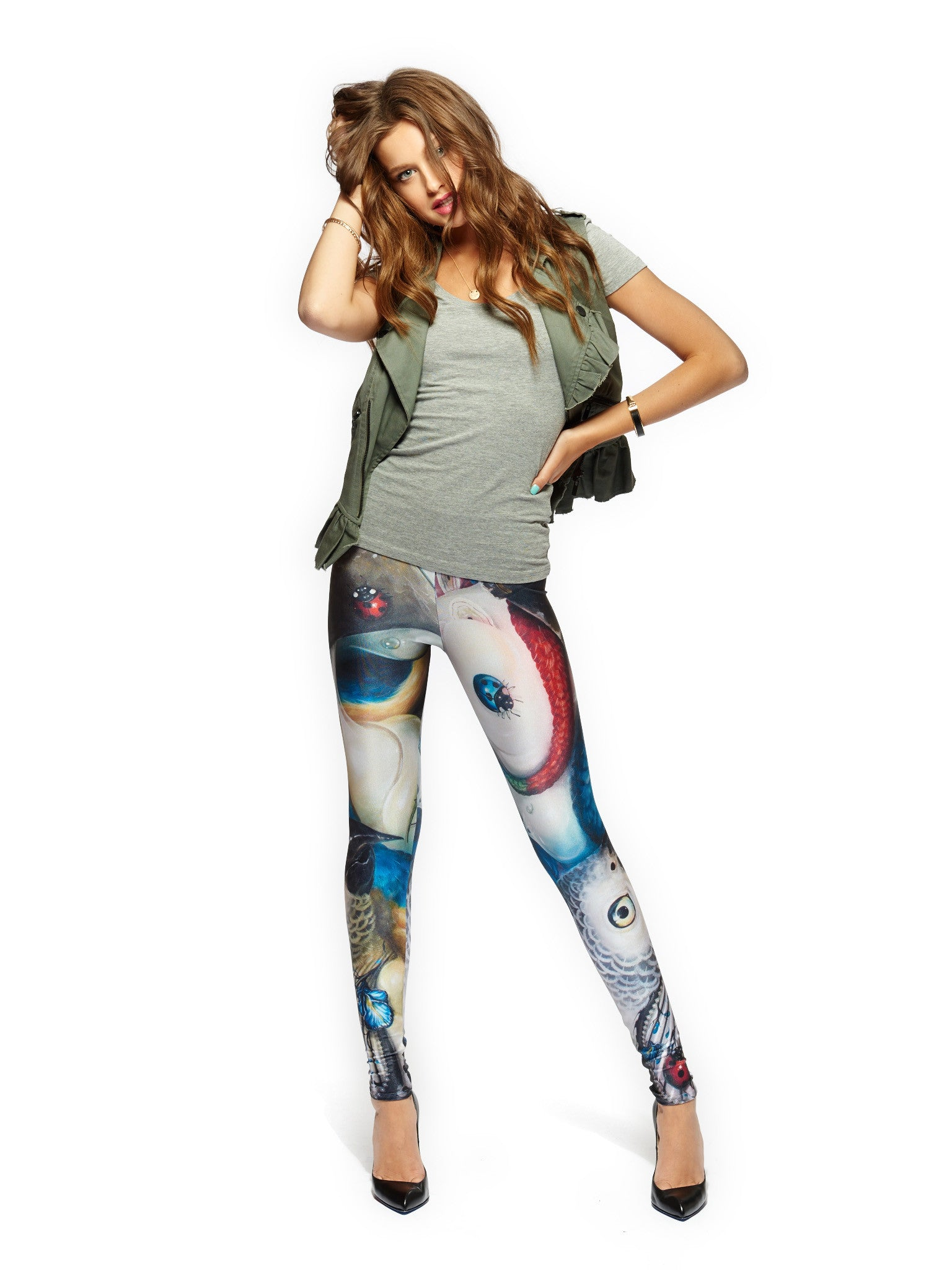 Once They Arrive Queen West Leggings - Nuvango Gallery & Goods - 1