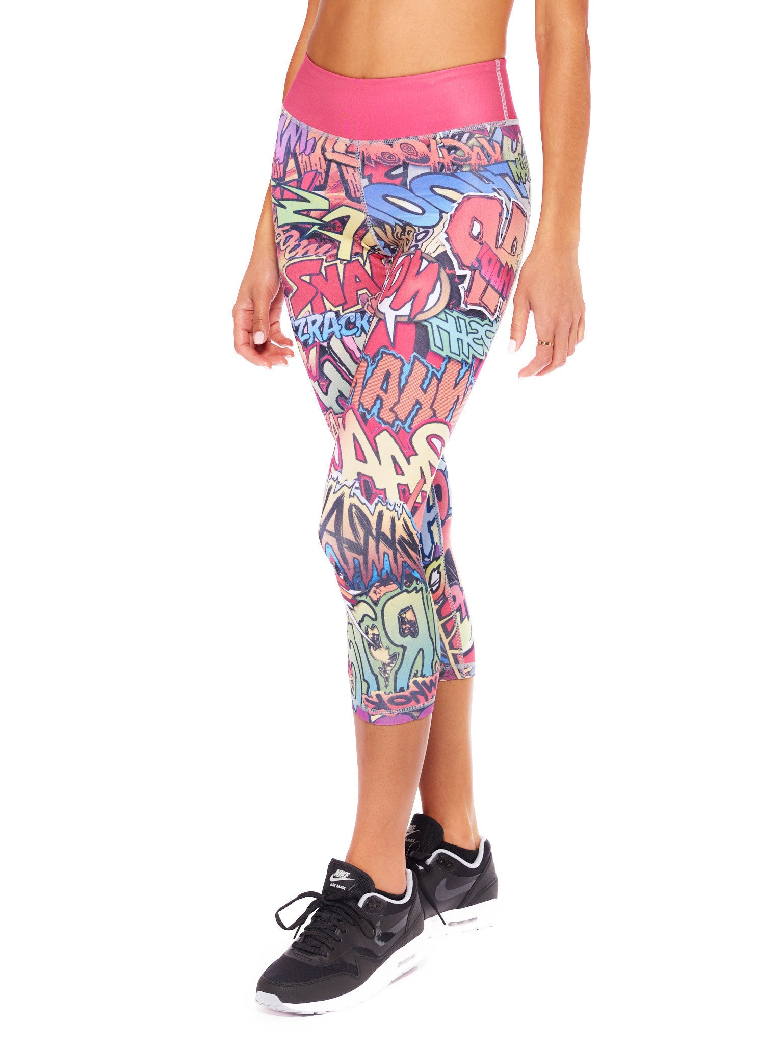 Action Packed Crop Leggings - Nuvango Gallery & Goods - 2