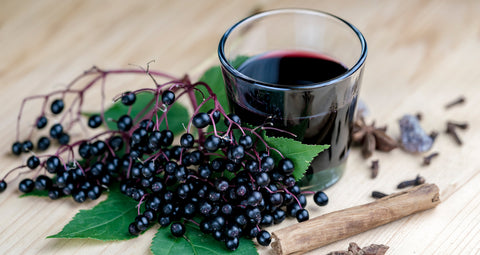 Elderberry Juice, Image Taken using Yandex.com