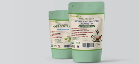 Teato Life Liver and Kidney Cleanse Kit