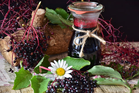 Elderberry Juice, Image Taken from Yandex.com