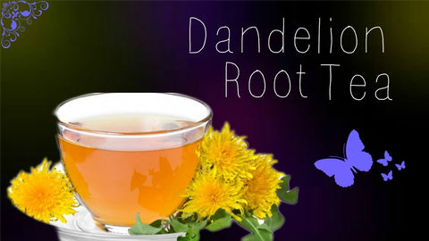 Dandelion Root Tea, image taken using Yandex.com