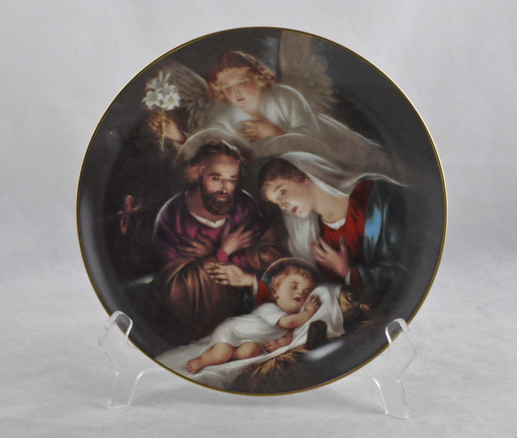 "The Bradford Exchange "" An Angel's Message"" 4076D Plate"