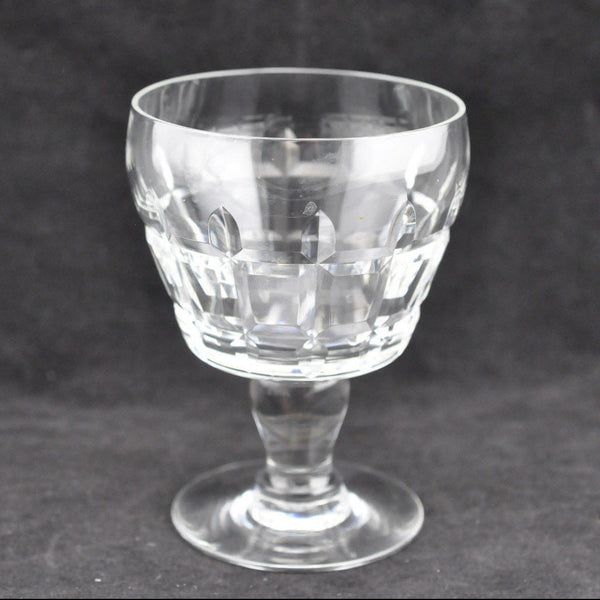 Baccarat Crystal Set of 4 Cognac Glasses Art Glass