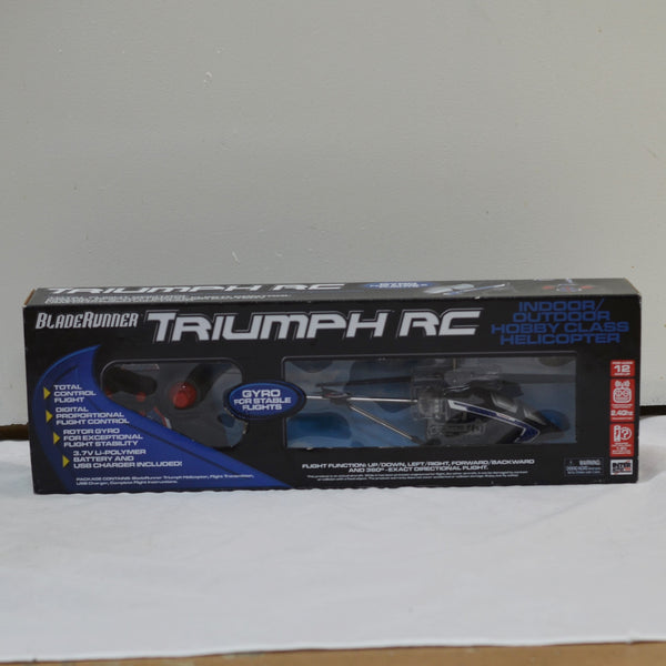 BladeRunner Triumph R/C Indoor/Outdoor Hobby Class Helicopter 50418