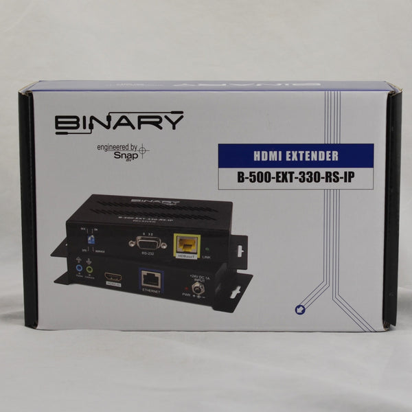 Binary 500 Series 4K Ultra HD HDMI Extender B-500-EXT-330-RS-IP