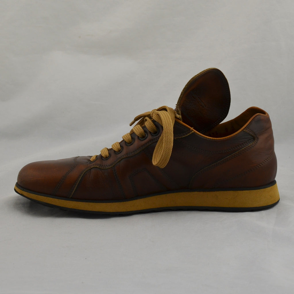 Salvatore Ferragamo Brown Leather Shoes Size 8