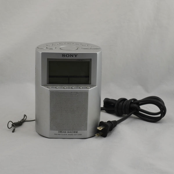 Authentic Sony ICF-C793 Dream Machine AM/FM Alarm Clock
