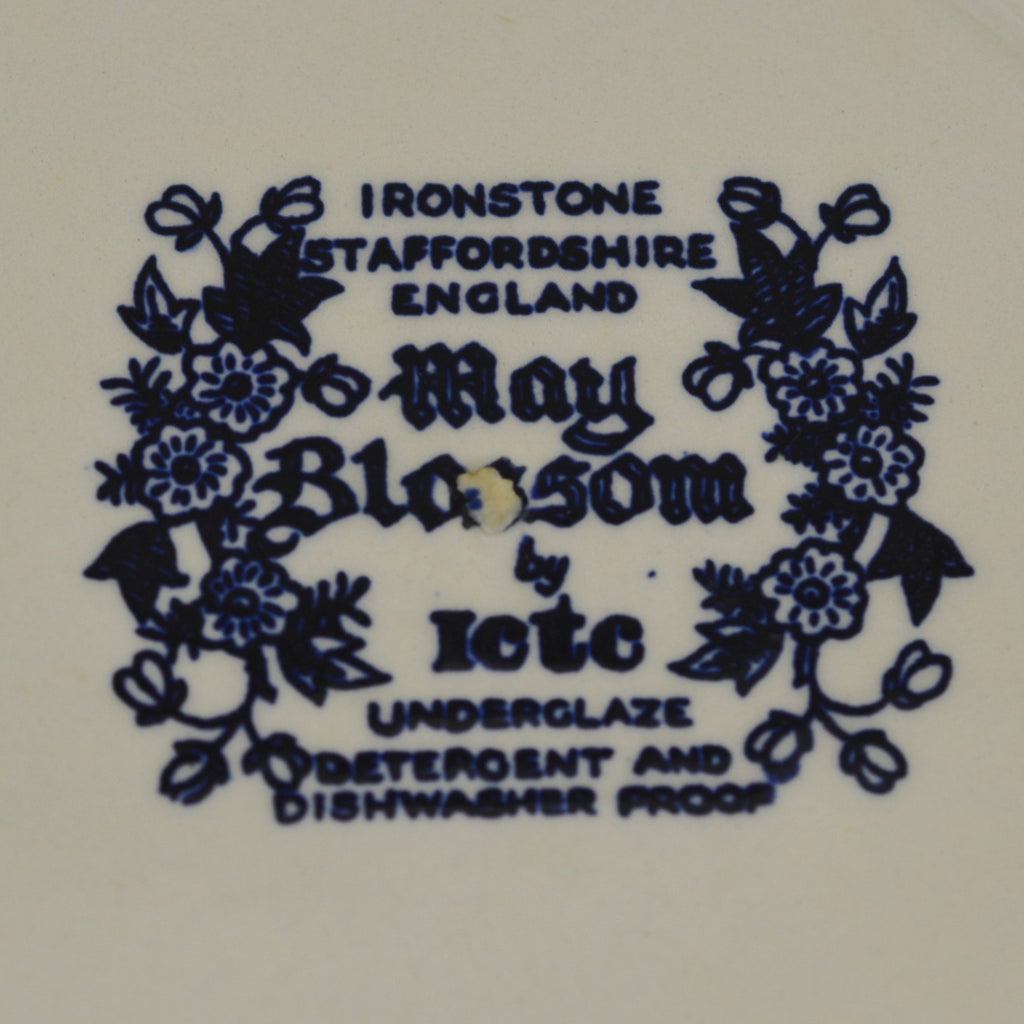 Burgess and Leigh May Blossom by Lete Ironstone Plate