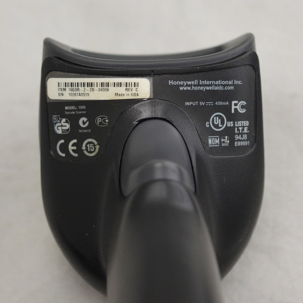 Honeywell Xenon 1900 Barcode Scanner USB Cable Black with Weighted Flexible Rod