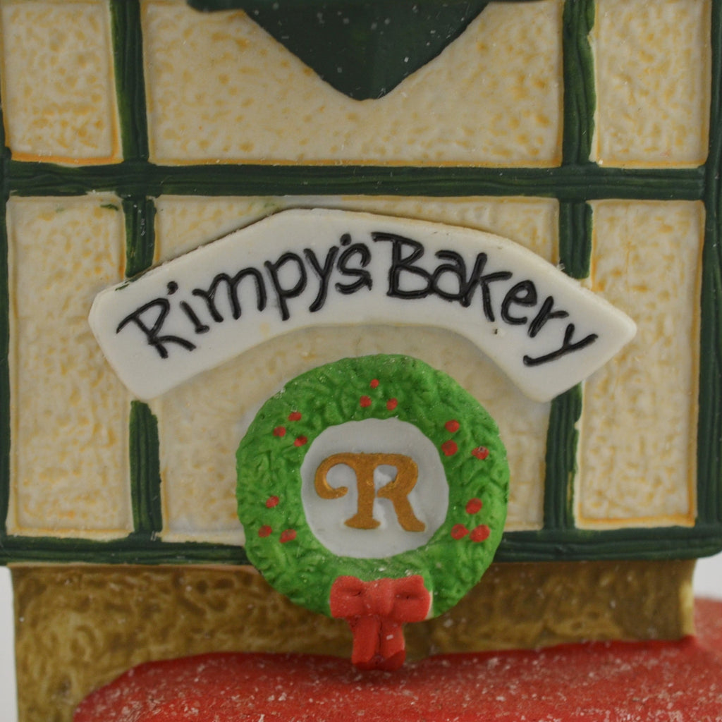 Heritage Village Collection North Pole Series Rimpy's Bakery 5621-9 Figure