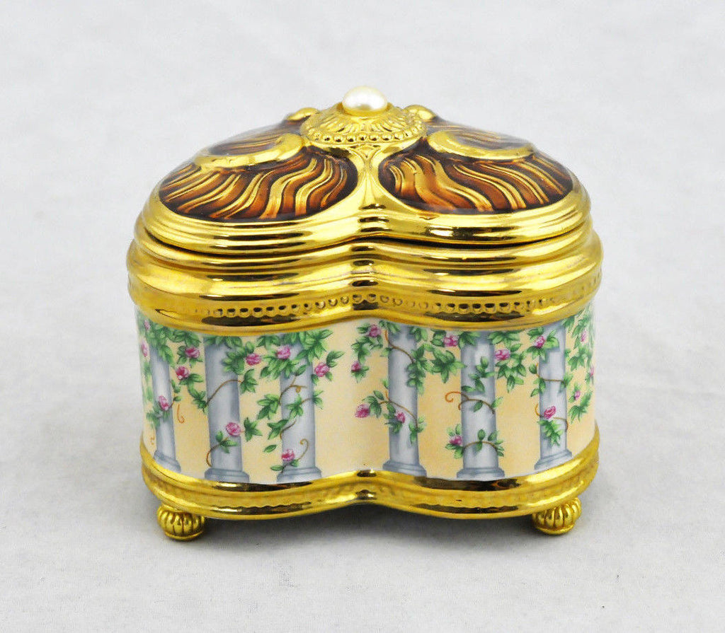 Romeo and Juliet House of Faberge Imperial Music Box by Franklin Mint