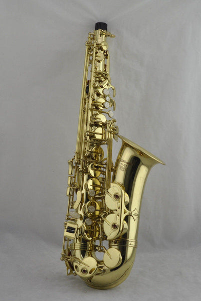Vintage Alto Stagg 77 SA Gold Tone Saxophone Ser# H0429B With Hard Case!