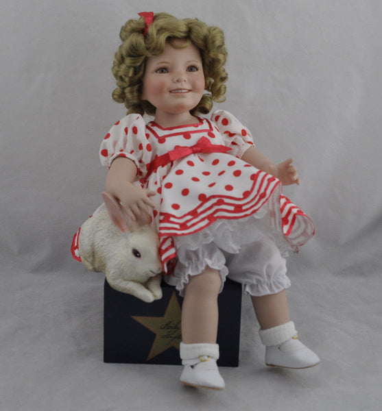 Vintage Danbury Mint Shirley Temple Doll By Susan Wakeen 13""