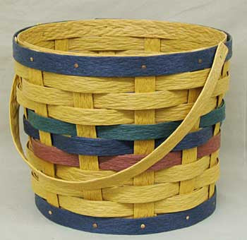 "10"" 1 - Handle Basket Sleeve - Krasco Baskets"