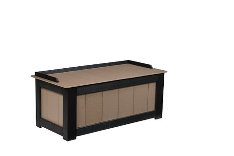 "24"" x 50""  Berlin Gardens Outdoor Poly Cushion Storage Box"