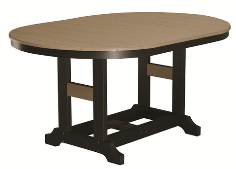 Garden Classic 44x64 Oblong Table in Natural Finishes-Berlin Gardens-Poly-Outdoor/Patio Furniture-Amish made
