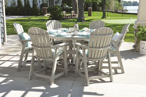 "Garden Classic 60"" Round Dining Table in Standard Colors"