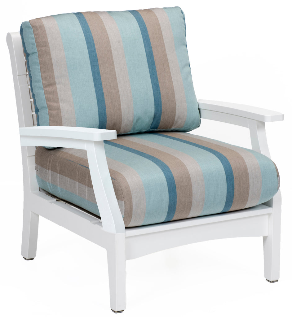 Classic Terrace Club Chair-Berlin Gardens-Poly-Patio Furniture-Amish
