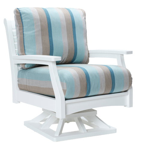 Classic Terrace Swivel Rocker-Berlin Gardens-Poly-Patio Furniture-Amish