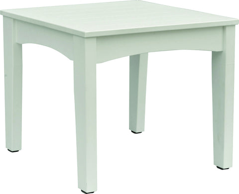 Classic Terrace End Table - Berlin Gardens - Poly - Outdoor/Patio Furniture