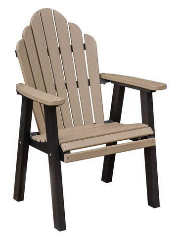 Cozi-Back Dining Chair-Berlin Gardens-Poly-Outdoor/Patio Furniture-Amish made