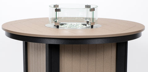 Round Glass Wind Guard