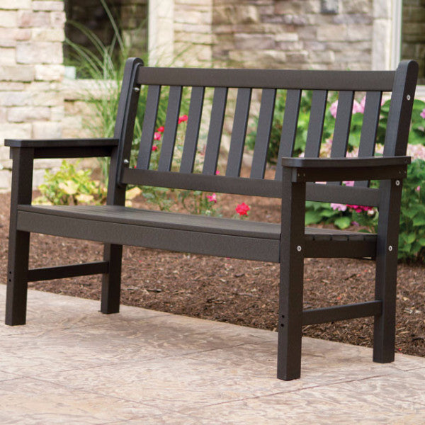 Garden Bench-Berlin Gardens-Poly-Outdoor/Patio Furniture-Amish made