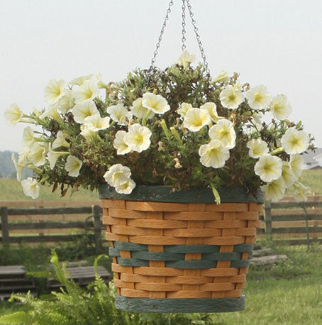 Round Hanging Baskets