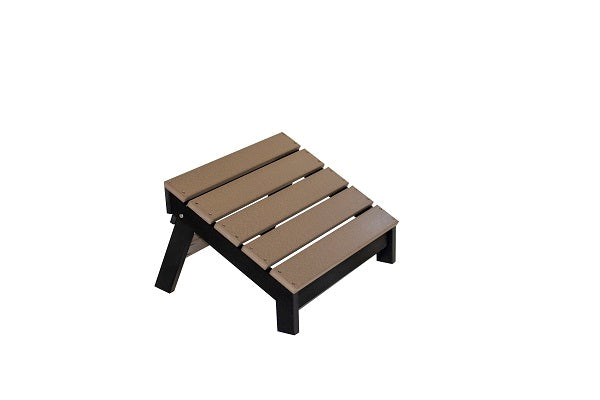 Berlin Gardens  Poly Outdoor Mayhew Folding Footstool