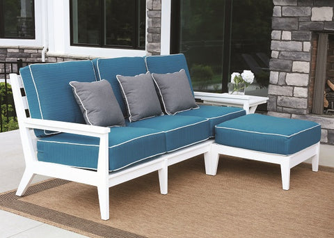 Berlin Gardens Mayhew Ottoman with Mayhew Sofa