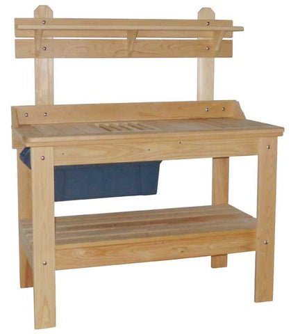 Cypress Potting Bench